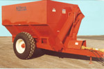 Model 600 Grain Cart in 1986