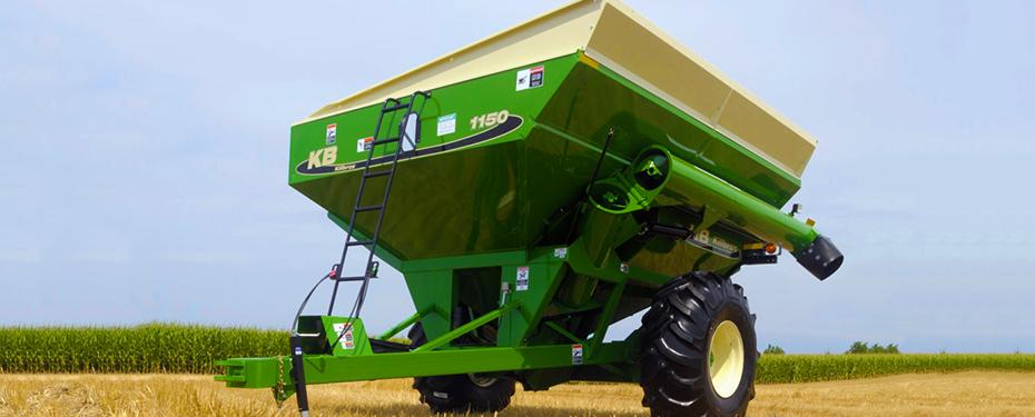 Mid-Size Corner Auger Grain Carts - Killbros Farm Equipment